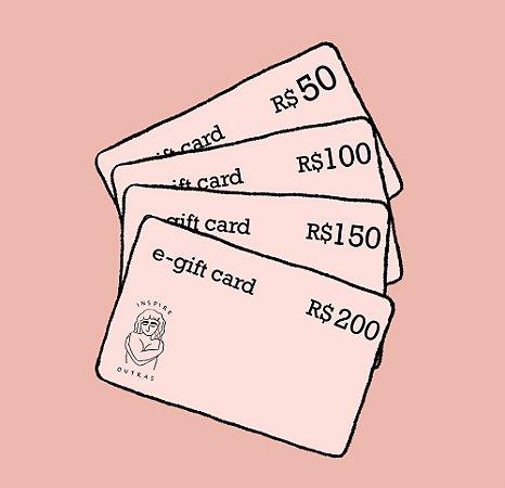 e-gift card Inspire Outras
