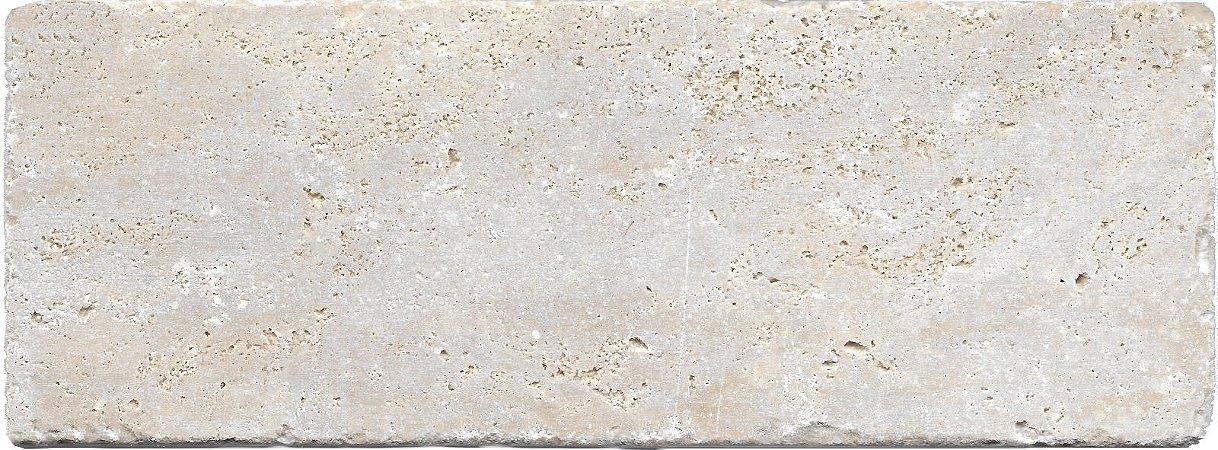 Revertimento Tijolinho em Travertino Romano