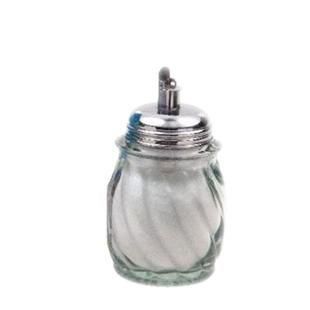 Açucareiro Mini Vidro Inox c/ Dosador - Globo