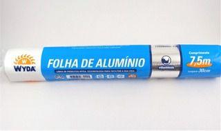Papel Alumínio Rolo 30X7.5M - Wyda