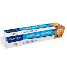Papel Alumínio Rolo 30X100MT - Wyda