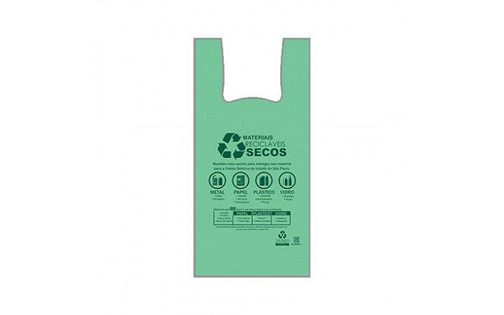 Sacola Green 48X55 C/ 500UN - Extrusa