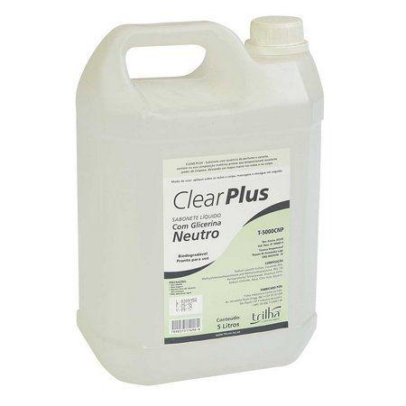 Sabonete Liquido Neutro 5Litros - Trilha