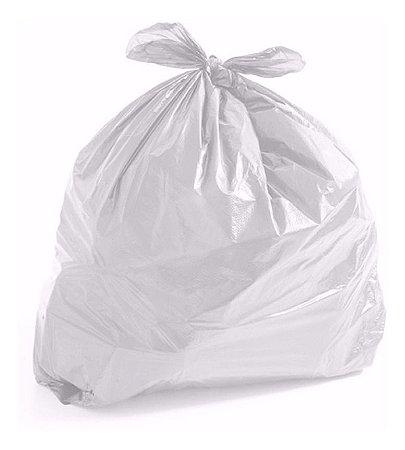 Saco de Lixo Branco  60 litros C/ 100UN