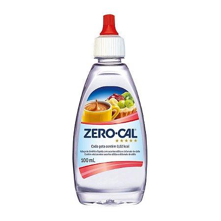 Adoçante Liquido 100ML - Zerocal