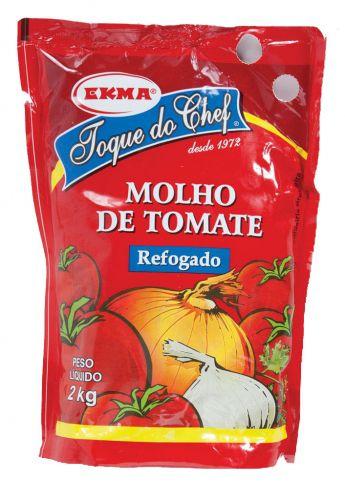 Molho de Tomate Refogado 2KG Caixa C/ 6 - Ekma
