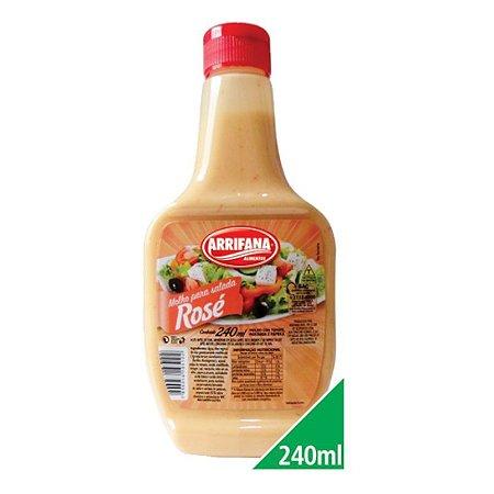Molho para Salada Rosé 240ml - Arrifana
