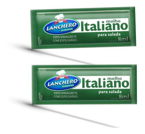 Molho Italiano Sachê  152Un - Lanchero