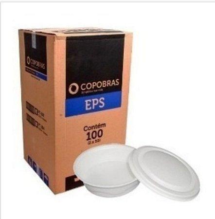 Marmitex Isopor PT 102 N 8 CX 100UN -Copobras