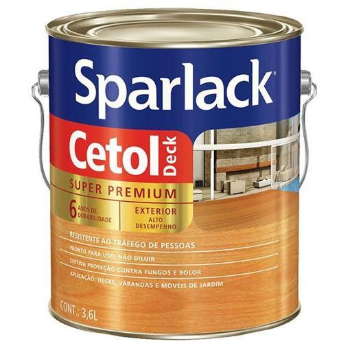 Sparlak Cetol Deck nat semi brilho 3,6 lts