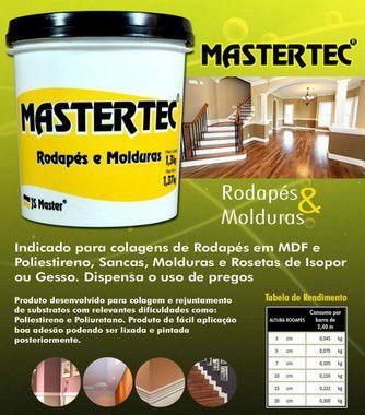 Cola Rodapé e Molduras Mastertec