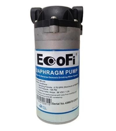 Bomba Diafragma Pressurização EcoFi 0,75 GPM + Fonte de Energia