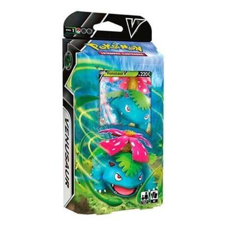 Decks Pokémon Espada e Escudo Baralho Batalha Venusaur V Copag cards