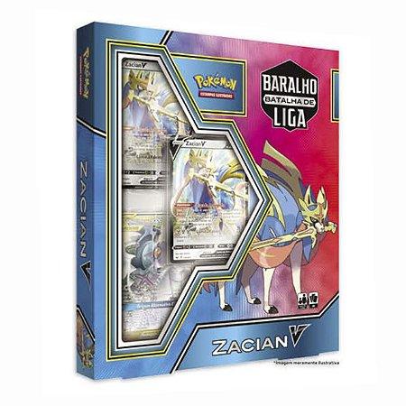 Pokémon Box Baralho Batalha De Liga Zacian V - Copag