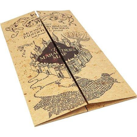 Mapa Do Maroto Luxo - Harry Potter
