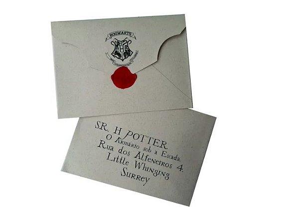 Carta Harry Potter Hogwarts Harry