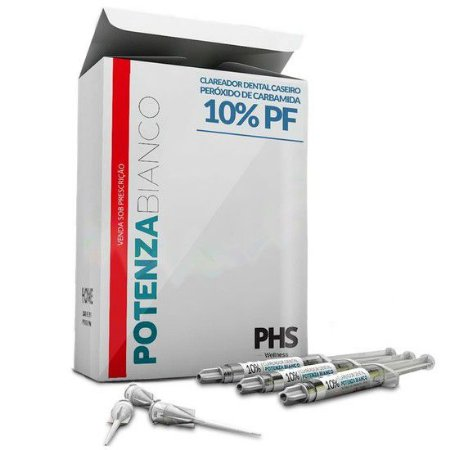 Clareador 10% Carbamida C/8ser Potenza Bianco PHS