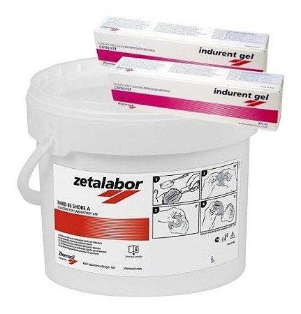 Silicone Zetalabor Muralha Normal 5kg + 2 Indurent Zhermack