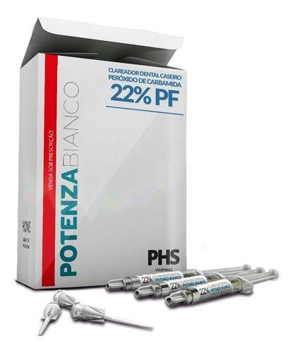 Clareador 22% Carbamida C/6ser +2 Moldeira Potenza PHS