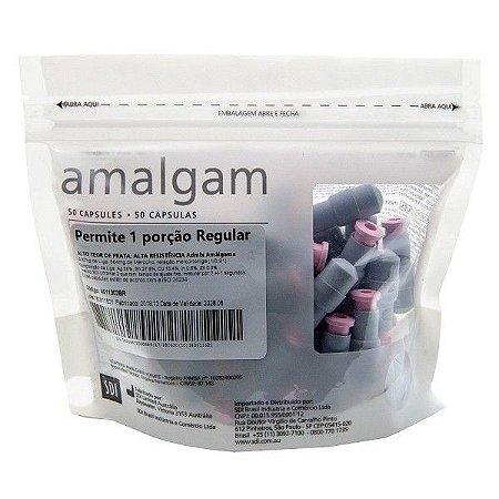 Amalgama 1 Porção Regular C/50cap Permite T SDI