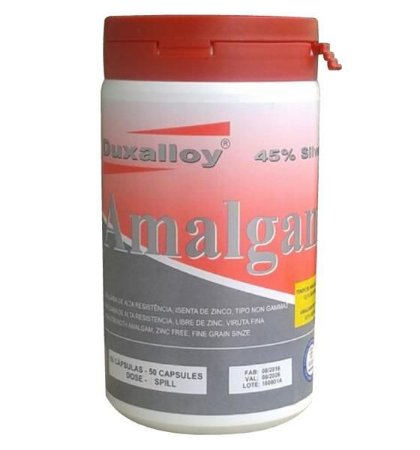 Amalgama 1 Porção Regular C/100cap 320mg Duxalloy Metalms