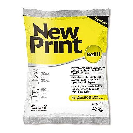 Alginato New Print C/454gr Dencril