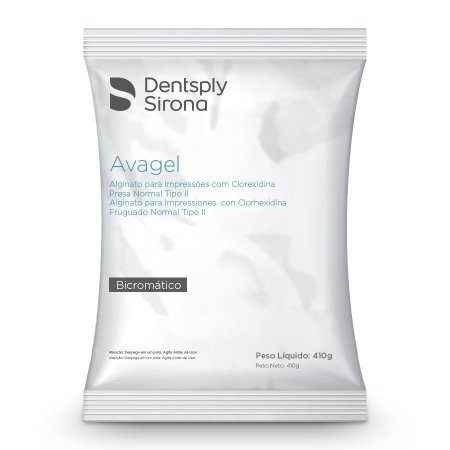 Alginato Presa Normal Avagel Refil C/410gr Dentsply
