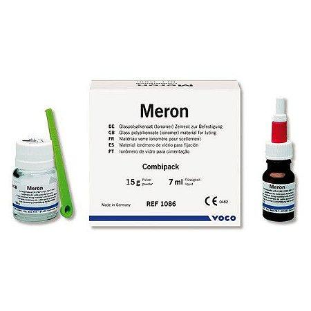 Ionômero de Vidro Cimentação Auto Meron C 15g + 7ml Voco