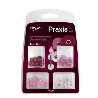 Disco de Lixa C/60un Praxis TDV
