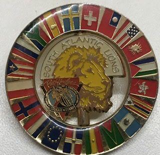 Lot - 12     Pin comemorativo ao Campori internacional