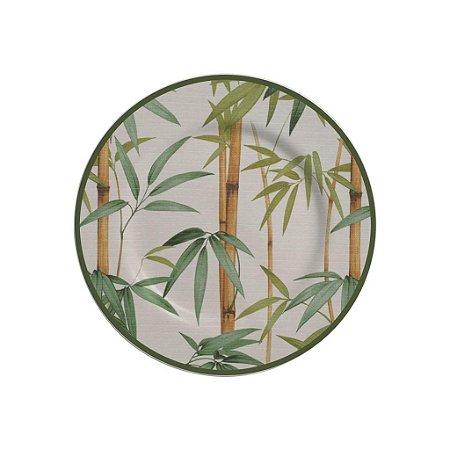 Prato Sobremesa 19,5cm Bambu - Alleanza