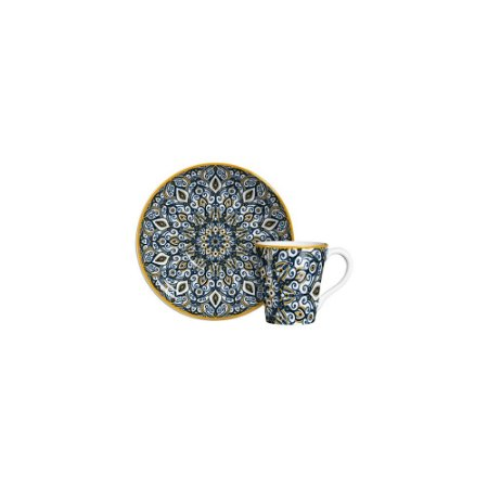 Xícara De Chá Bombaim - Cerâmica Scalla