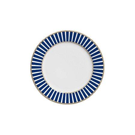Prato Sobremesa 20cm Art Deco - Cerâmica Scalla