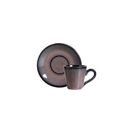 Xícara De Chá Planet Rm - Cerâmica Scalla