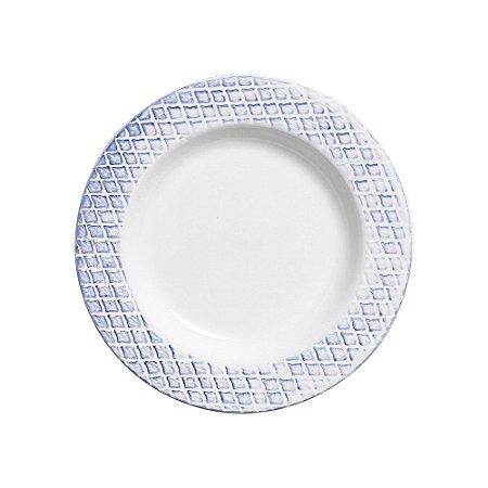 Prato Fundo 25cm Abacaxi - Cerâmica Scalla