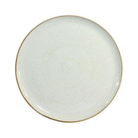Prato Raso 28cm Artisan Branco - Corona