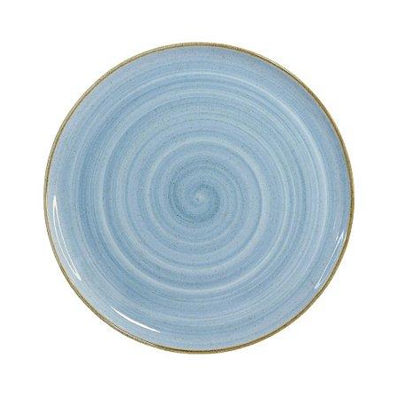 Prato Raso 28cm Artisan Azul - Corona