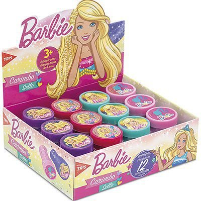 Carimbo Auto Entintado Barbie Tris