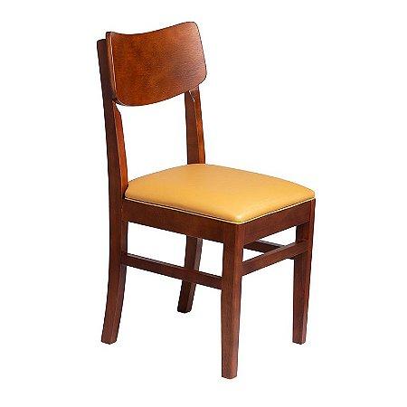 Cadeira Safira Estrutura em Madeira Maciça - Kaki