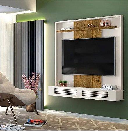 Painel TV até 60 Polegadas Selene Off White/Demolição - DJ Móveis