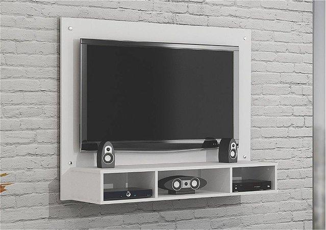Painel TV até 46 Polegadas Atena Branco - Valdemóveis