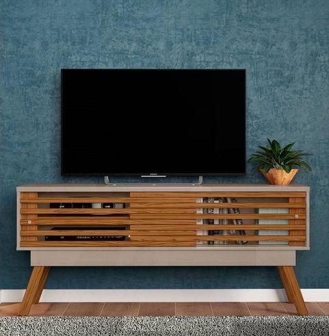 Rack para TV até 65 Polegadas Frizz 1.5 Fendi/Naturale - Madetec