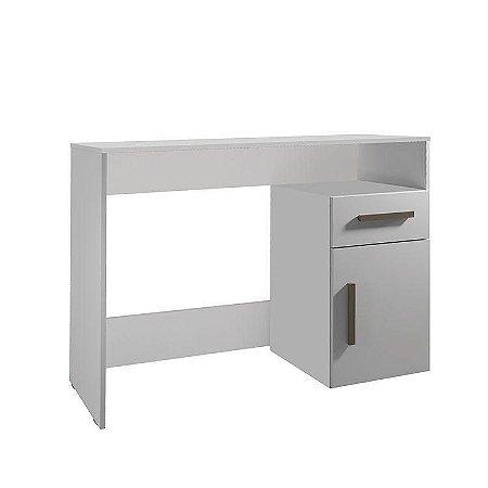 Escrivaninha 1 Gaveta 1 Porta Isabele Branco - Minas Plac