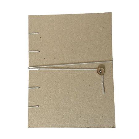 Caderno Artesanal - Reciclato 120f - Sem Pauta - A5