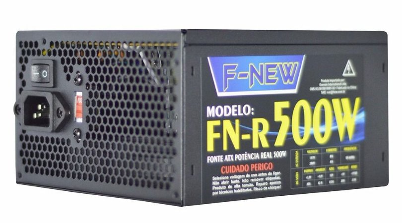 FONTE F-NEW 500W REAL