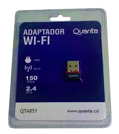 ADAPTADOR WI-FI USB QUANTA QTA851