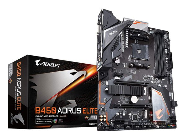 PLACA MÃE MB AM4 GIGABYTE B450 AORUS ELITE