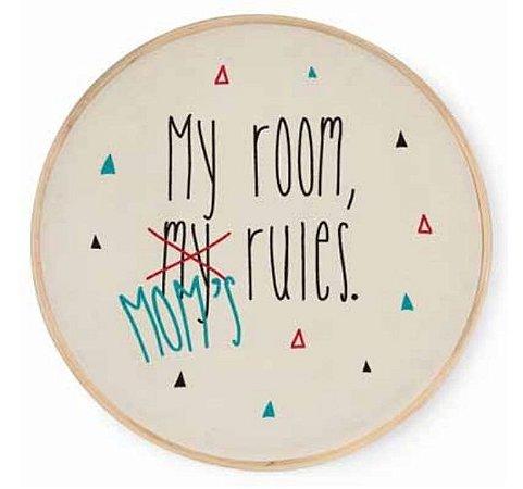 Quadrinho Bastidor My Room, Moms Rules