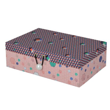 Caixa Fragments Decorativa / Organizadora  P