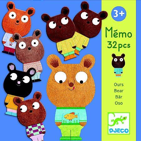 Jogo da Memória - Ursos